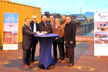 Vertragsverlängerung Containerumschlag