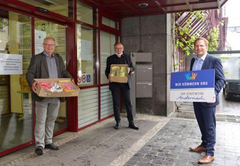 Stadtwerke Andernach unterstützen Nähtreff für Masken der Ehrenamtsinitiative